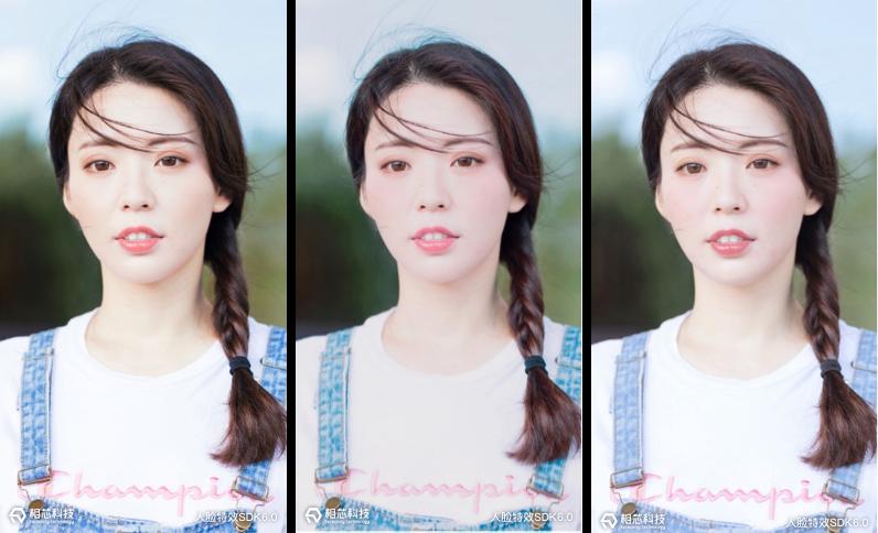 质感美颜秒变大片,相芯科技人脸特效SDK全面升级