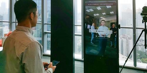 """相芯科技人脸特效""""打卡""""微软,升级零售新体验"""